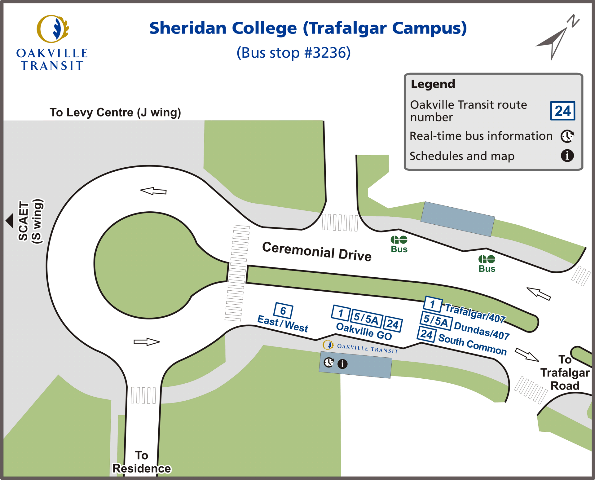 Sheridan College map