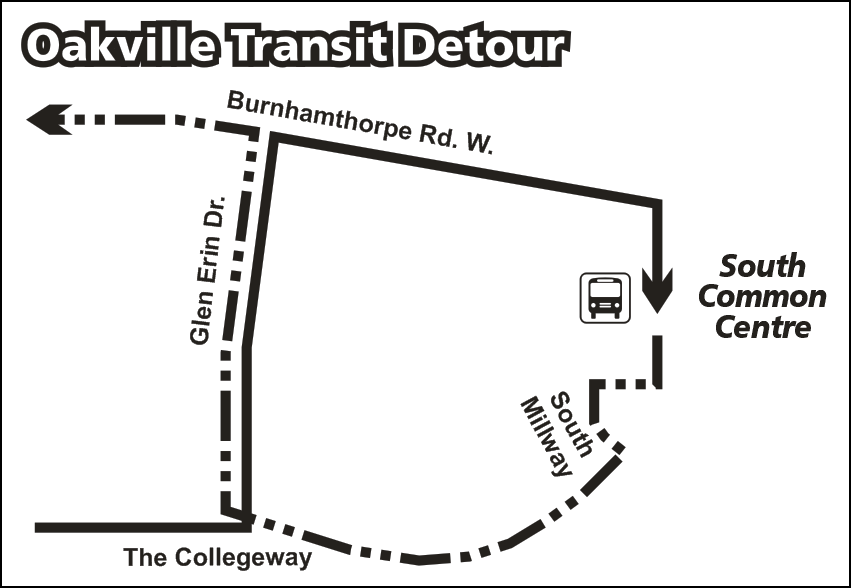 Route 24 temporary detour map