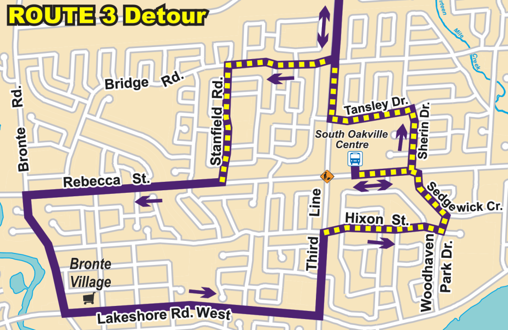 Routes 3 14 14a And 15 Detour From June 11 Tuesday May